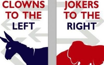 Clowns to the left, Jokers to the right